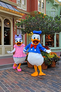 Daisy and Donald Duck