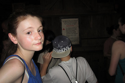 Sydney in line for the Big Thunder Mountain Railroad at Disney's Magic Kingdom (Image taken by Kathy L. Kane on 27 May 2012 with Canon PowerShot ELPH 100 HS at ISO 0, f2.8, 1/60 sec and 5mm)