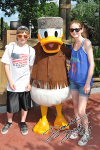 Christopher and Sydney at Magic Kingdom on 27 May 2012