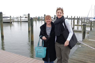 Kathy and Natalie during girls night out at Chesapeake Beach Resort and Spa (08 Oct 2012)