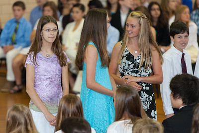Sydney's friend, Meredith. 8th Grade Promotion at Williamsburg Middle School (Image taken by Patrick R. Kane on 21 Jun 2012 with Canon EOS 5D at ISO 400, f2.8, 1/125 sec and 200mm)