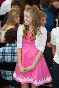 Sydney's friend, Elana. 8th Grade Promotion at Williamsburg Middle School (Image taken by Patrick R. Kane on 21 Jun 2012 with Canon EOS 5D at ISO 400, f2.8, 1/160 sec and 150mm)