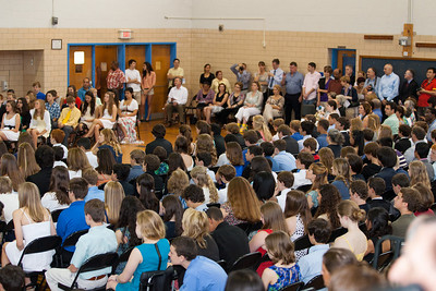 8th Grade Promotion at Williamsburg Middle School (Image taken by Patrick R. Kane on 21 Jun 2012 with Canon EOS 5D at ISO 400, f2.8, 1/125 sec and 70mm)