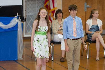 Sydney and Kevin. 8th Grade Promotion at Williamsburg Middle School (Image taken by Patrick R. Kane on 21 Jun 2012 with Canon EOS 5D at ISO 400, f2.8, 1/125 sec and 182mm)