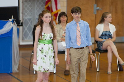 Sydney and Kevin. 8th Grade Promotion at Williamsburg Middle School (Image taken by Patrick R. Kane on 21 Jun 2012 with Canon EOS 5D at ISO 400, f2.8, 1/160 sec and 182mm)