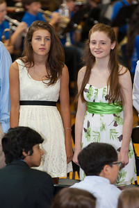 Sara and Sydney. 8th Grade Promotion at Williamsburg Middle School (Image taken by Patrick R. Kane on 21 Jun 2012 with Canon EOS 5D at ISO 400, f2.8, 1/125 sec and 200mm)