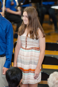 Sydney's friend, Haley. 8th Grade Promotion at Williamsburg Middle School (Image taken by Patrick R. Kane on 21 Jun 2012 with Canon EOS 5D at ISO 400, f2.8, 1/60 sec and 182mm)