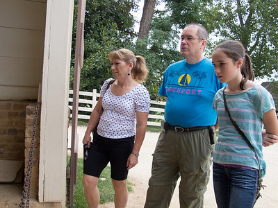 John, Tracy & Rachel's Visit (10 Aug 2013)