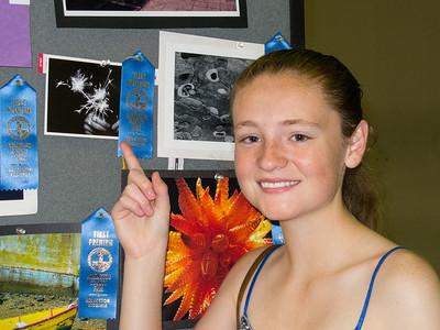 'Sparklers,' 1st Place, 2014 Arlington County Fair