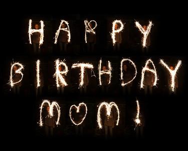 'Happy Birthday Mom,' 1st Place, 2014 Arlington County Fair