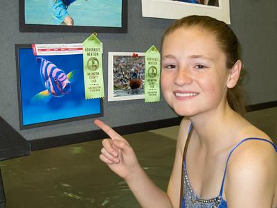 'Nemo's Neon Cousin,' Honorable Mention, 2014 Arlington County Fair
