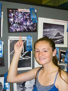 'Purple,' 1st Place, 2014 Arlington County Fair