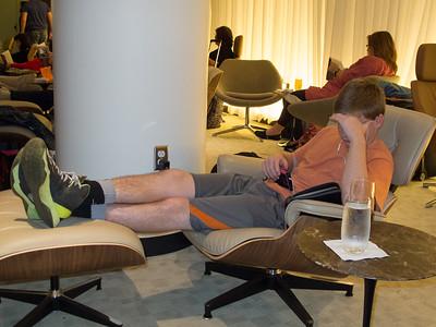 Quantas Business Lounge @ LAX