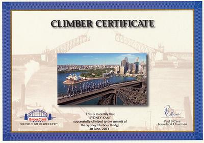 Bridge Climb
