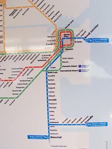 T4 train to Sydney