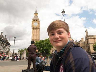 Chris at Big Ben