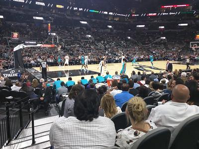 Spurs vs Hornets