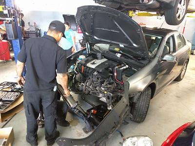 Replacing Jetta's AC Condensor (26 Aug 2017)