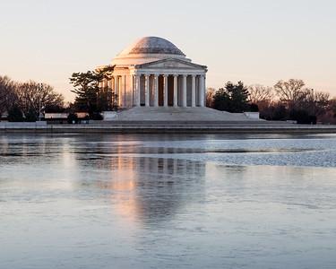 Jefferson at Sunrise