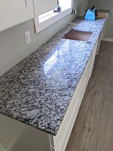 Apartment kitchen counter
