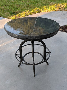 End table for porch