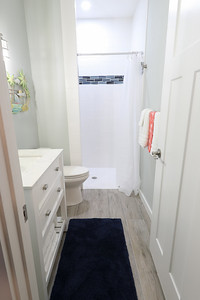 Efficiency bathroom