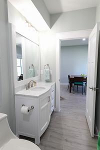 Apartment downstairs half-bath