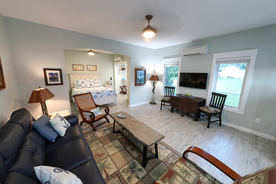 Efficiency living and dining area