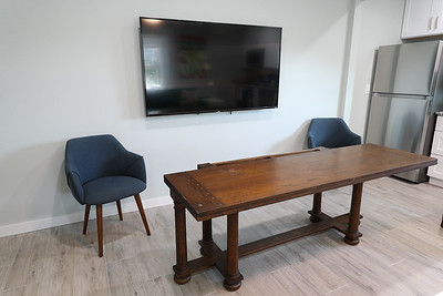 Apartment flip top dining table