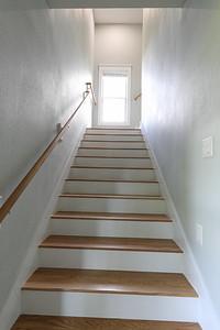 Apartment staircase
