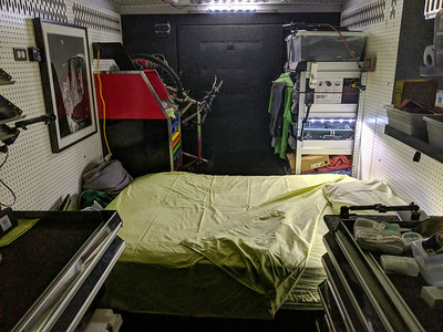 First night on the road