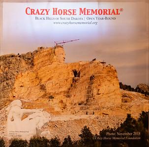 Crazy Horse Memorial, Crazy Horse, South Dakota