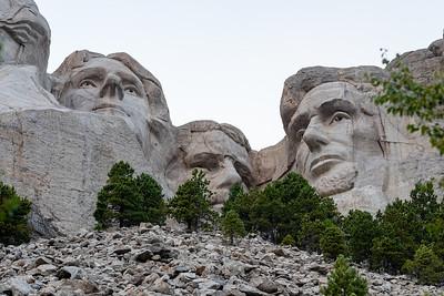 Thomas Jefferson, Theodore Roosevelt and Abraham Lincoln, Mount Rushmore, Keystone, South Dakota
