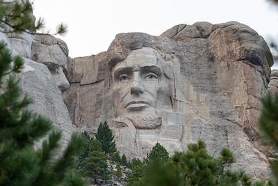 Abraham Lincoln, Mount Rushmore, Keystone, South Dakota