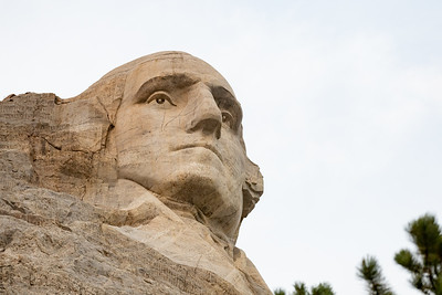George Washington, Mount Rushmore, Keystone, South Dakota