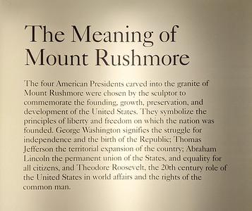 """The Meaning of Mount Rushmore,"" Keystone, South Dakota"