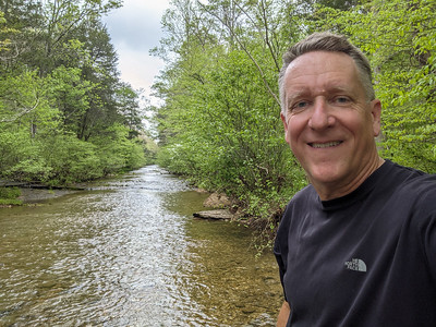 A 4.5-mile hike on the Meriwether Lewis Loop Trail from the Meriwether Lewis Campground, Natchez Trace Parkway, Hohenwald, Tennessee