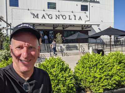 I stopped at Magnolia Market at the Silos in Waco, Texas, and picked up some cupcakes to take to Sunnyvale and Denison. I am sure there is a lot to do on this city block during the weekends.