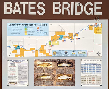 Bates Bridge was our launching point for a float along the Teton River. The trip was one of the planned outings during the Xscapers Grand Teton Convergence, Driggs, Idaho.