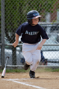 Mariners vs. Mets, 2008 Arlington Little League Baseball, Minors Division (Image taken with Canon EOS 20D at ISO 100, f2.8, 1/1000 sec and 185mm)