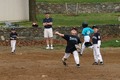 Mariners vs. Marlins, 2008 Arlington Little League Baseball, Minors Division (Image taken with Canon EOS 20D at ISO 400, f7.1, 1/800 sec and 70mm)