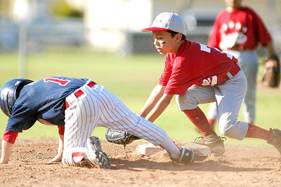 North Side All-Stars vs. Hueneme All-Stars, North Side wins 25 to 7, 2007 North Side Little League Baseball, Tee Ball Division