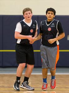 Wizards @ Ramparts Basketball (11 Jan 2015)