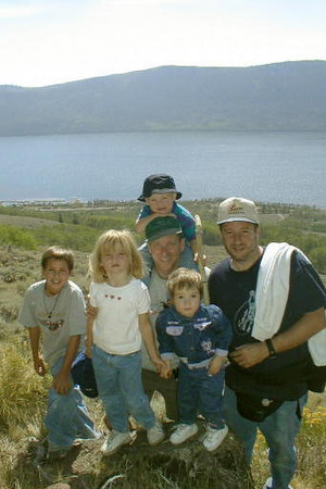"Utah (23 Aug - 1 Sep 2002). We headed east from California while John & family and Andrew & family headed west from Colorado. Our destination was Fish Lake, where we stayed (Aug 24-28) in the Mackinaw Campground (sites 56 and 57) and had a great time hiking, biking and fishing. After Andrew & family headed home, we moved camp for the rest of the week (Aug 28-31) to Ruby's Inn RV Park & Campground outside of Bryce Canyon National Park (a must see). On our way home, we spent the day at Zion National Park and the night at the Circusland RV Park (a.k.a., parking lot) in Las Vegas (we also spent the first night of our trip there as well).  See more photos in the  <A HREF=""http://kanefamily.smugmug.com/gallery/3849917"">photo album</A>"