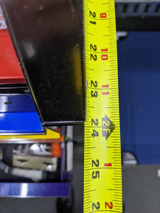 Depth of Snap-On toolbox
