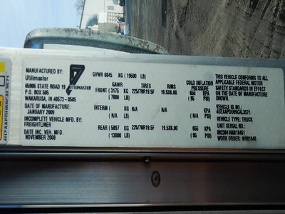 2009 FREIGHTLINER MT45 Step Van
