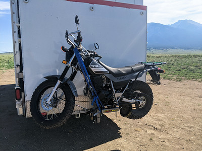 Trailer Hitch Motorcycle Carrier