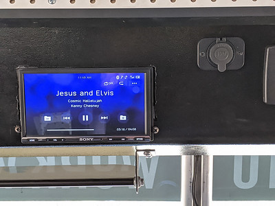 New car stereo