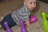 Baby bowling: You're going DOWN, green pin!