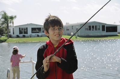 Granddad Woods dock. Okeechobee FL. 2006